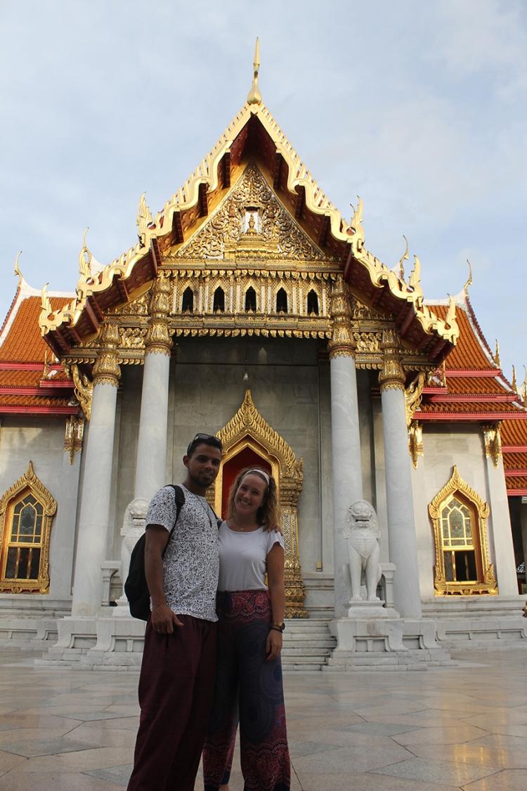 En esta foto estamos dentro del Marble Temple.