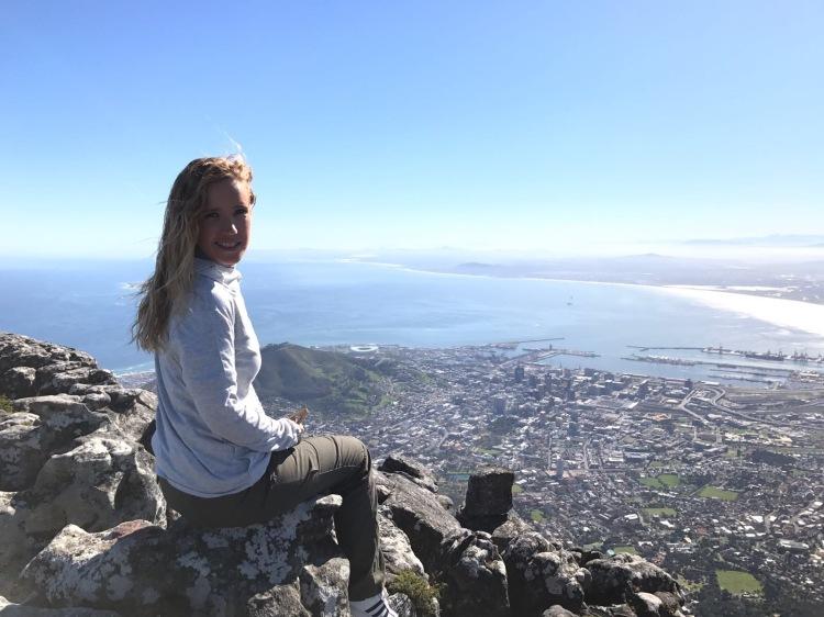 Vista desde lo alto de Table Mountain