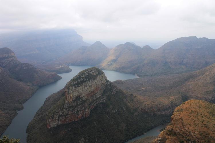 Foto del Blyde river canyon en Mpumalanga.